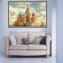 Load image into Gallery viewer, New Castle Full Drill - 5D Diy Diamond Painting Kits VM07422 - NEEDLEWORK KITS