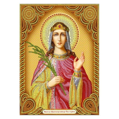 New Catholicism Portrait Full Drill - 5D Diy Embroidery Diamond Painting Kits QB8077 - NEEDLEWORK KITS
