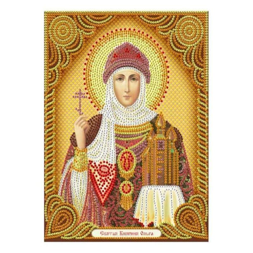 New Catholicism Portrait Full Drill - 5D Diy Embroidery Diamond Painting Kits QB8078 - NEEDLEWORK KITS
