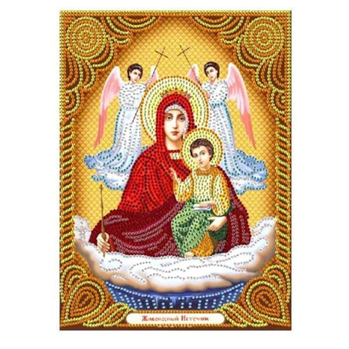 New Catholicism Portrait Full Drill - 5D Diy Embroidery Diamond Painting Kits QB8088 - NEEDLEWORK KITS