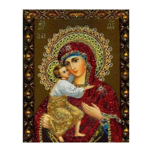 2019 New Catholicism Religious Figures 5d Diy Diamond Painting Kits VM4038 - 3
