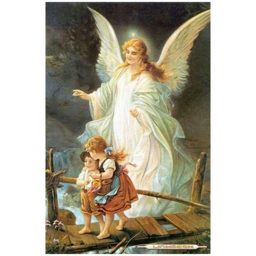 2019 New Christianity Angel 5d Diy Embroidery Diamond Painting Kits QB8099 - 4