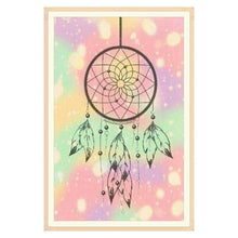 Load image into Gallery viewer, New Dream Catcher Feathers Full Drill - 5D Diy Diamond Painting Kits VM8348 - NEEDLEWORK KITS