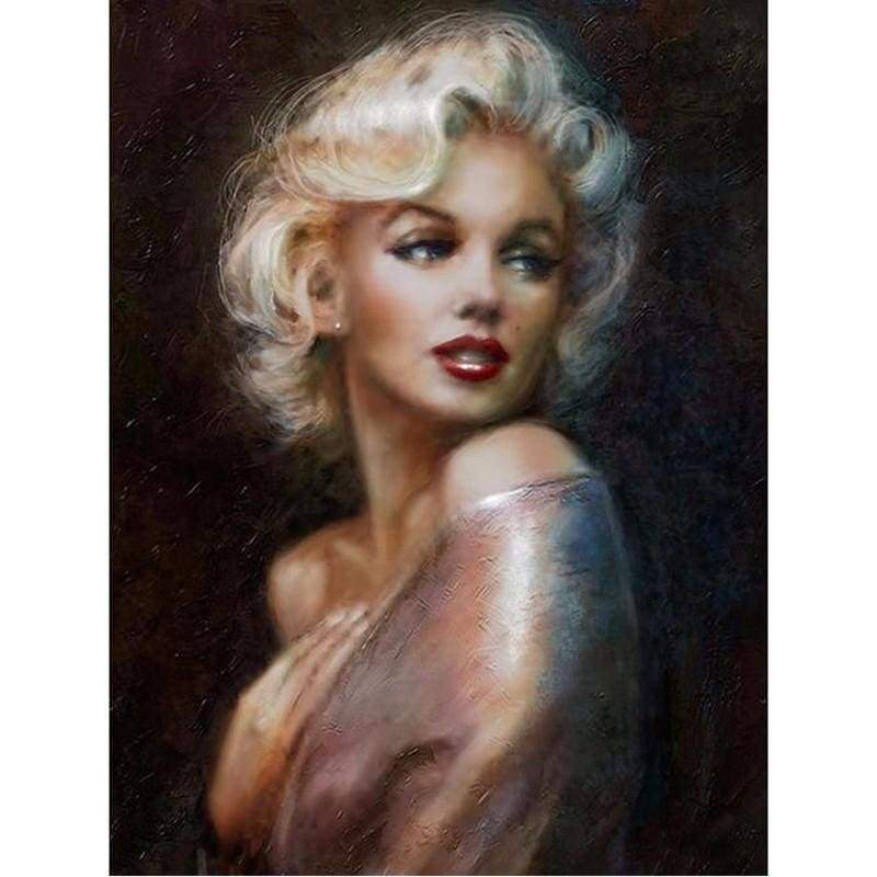 New Dream Famous People Celebrity Full Drill - 5D Diamond Painting VM1042 - NEEDLEWORK KITS