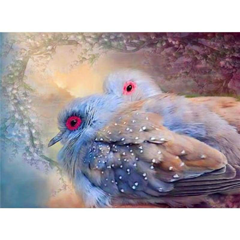 New Dream Wall Decor Bird Full Drill - 5D Diy Diamond Painting Kits VM8573 - NEEDLEWORK KITS