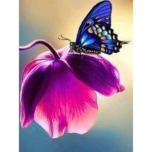 New Fast Delivery Butterfly Full Drill - 5D Diy Crystal Painting VM8610 - NEEDLEWORK KITS