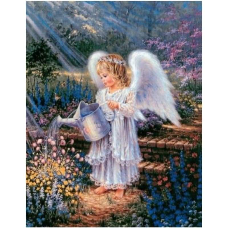 New Hot Sale Angel Wings Home Decor Full Drill - 5D Diy Diamond Painting Kits VM9225 - NEEDLEWORK KITS