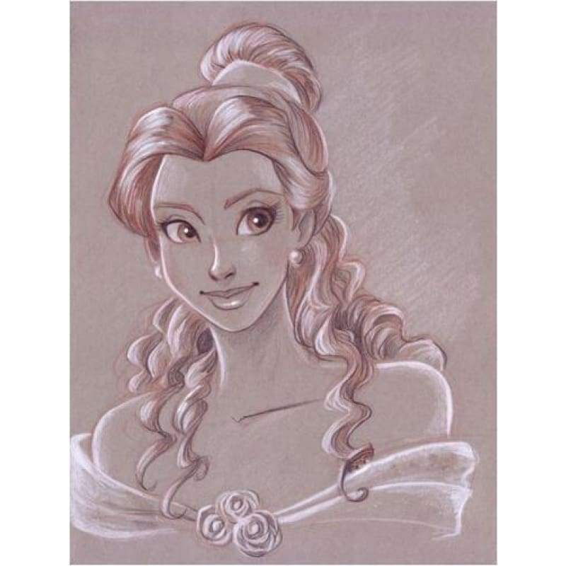 New Hot Sale Cartoon Princess Full Drill - 5D Diy Diamond Painting Kits VM8363 - NEEDLEWORK KITS