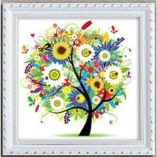 Load image into Gallery viewer, New Hot Sale Cartoon Tree Full Drill - 5D Diy Diamond Painting Kits VM09052 - NEEDLEWORK KITS