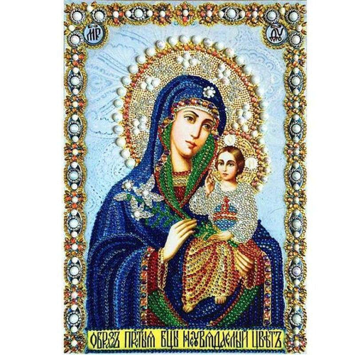 2019 New Hot Sale Catholicism Religious 5d Diy Crystal Diamond Painting Kits VM3694 - 3