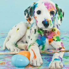 Load image into Gallery viewer, New Hot Sale Colorful Dog Wall Decor Full Drill - 5D Diy Diamond Painting Kits VM7870 - NEEDLEWORK KITS