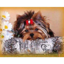 Load image into Gallery viewer, New Hot Sale Cute Dog Picture Full Drill - 5D Diamond Painting Cross Stitch VM8594 - NEEDLEWORK KITS