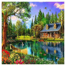 Load image into Gallery viewer, New Hot Sale Dream Cottage Full Drill - 5D Diy Diamond Painting Kits VM8381 - NEEDLEWORK KITS