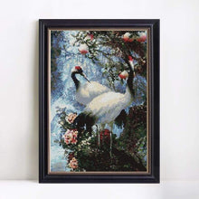 Load image into Gallery viewer, New Hot Sale Dream Red Crowned Crane Full Drill - 5D DIY Diamond Painting Kits VM8191 - NEEDLEWORK KITS