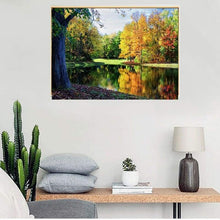 Load image into Gallery viewer, New Hot Sale Lake Forest Landscape Diy Full Drill - 5D Diamond Painting VM1227 - NEEDLEWORK KITS
