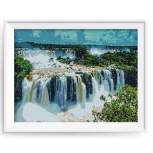 Load image into Gallery viewer, 2019 New Hot Sale Landscape Waterfall Diamond Embroidery Kits VM19866 - NEEDLEWORK KITS