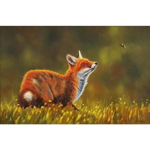 New Hot Sale Mosaic Home Decor Animal Fox Full Drill - 5D DIY Diamond Painting Kits VM8292 - NEEDLEWORK KITS