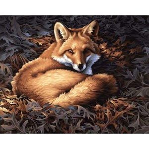 New Hot Sale Mosaic Home Decor Fox Full Drill - 5D DIY Diamond Painting Kits VM8295 - NEEDLEWORK KITS