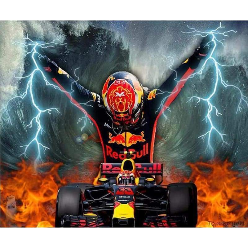 Formula 1 racing car Diamond Painting Kits VM7583 - NEEDLEWORK KITS