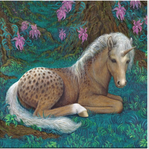 New Hot Sale Popular Unicorn Full Drill - 5D Diy Diamond Painting Kits VM7605 - NEEDLEWORK KITS