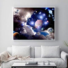 Load image into Gallery viewer, New Hot Sale Space Star Wall Decor Full Drill - 5D Diy Diamond Painting Kits VM7885 - NEEDLEWORK KITS