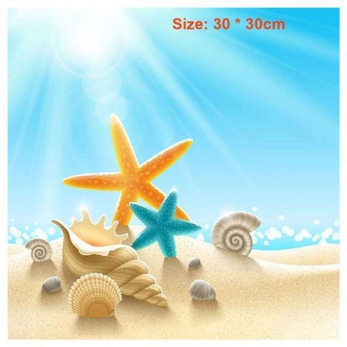2019 New Hot Sale Starfish Summer Party 5d Diy Diamond Painting Kits VM9088