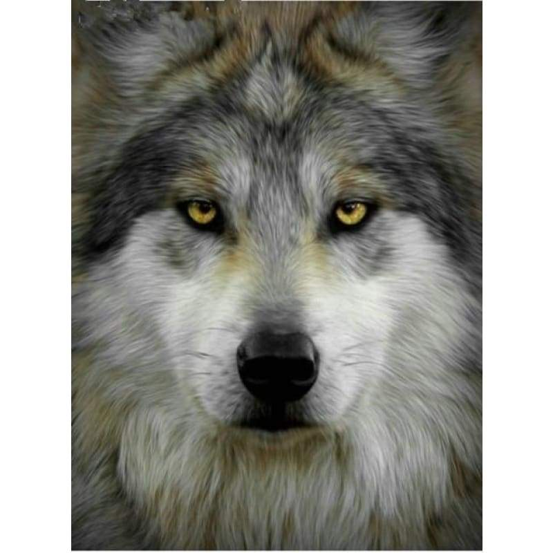New Hot Sale Stitch Kit Fast Delivery Full Drill - 5D Diy  Diamond Painting Wolf VM8624 - NEEDLEWORK KITS