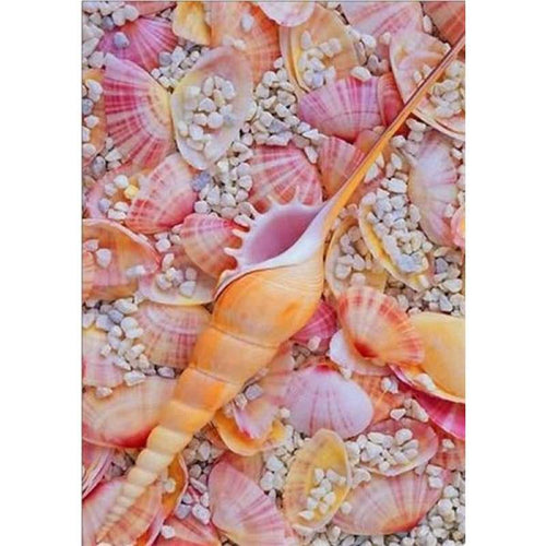 2019 New Hot Sale Summer Beach Starfish Shell Pebble 5d Diy Diamond Painting Kits VM07338 - 4