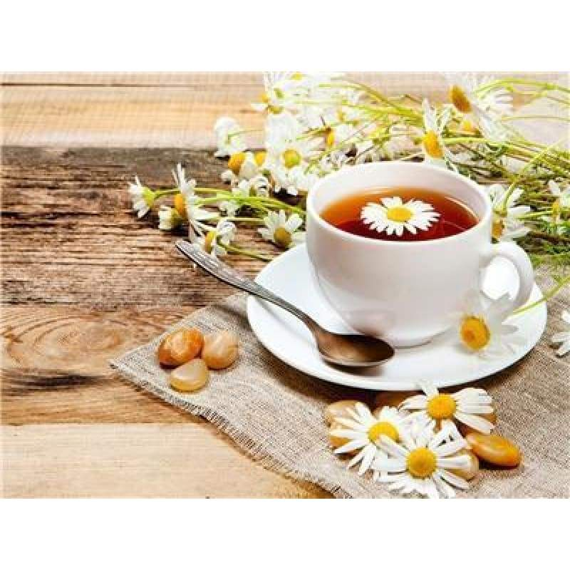 New Hot Sale Tea Cup And Flower Picture Diy Full Drill - 5D Diy Crystal Painting Kits VM30917 - NEEDLEWORK KITS