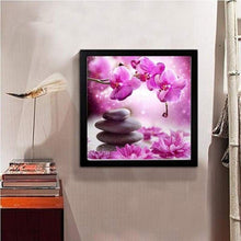 Load image into Gallery viewer, New Popular Violet Flower Full Drill - 5D Diy Diamond Painting Kits VM04205 - NEEDLEWORK KITS
