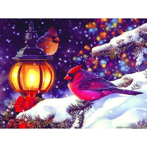 New Winter Animal Bird Needlework Full Drill - 5D Diy Diamond Painting Kits VM9201 - NEEDLEWORK KITS