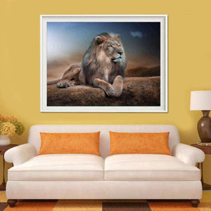 Special Animal Lion Portrait Full Drill - 5D Diy Diamond Painting Kits VM7799 - NEEDLEWORK KITS