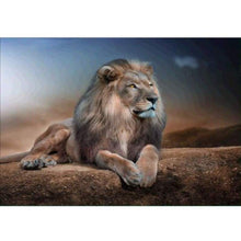 Load image into Gallery viewer, Special Animal Lion Portrait Full Drill - 5D Diy Diamond Painting Kits VM7799 - NEEDLEWORK KITS