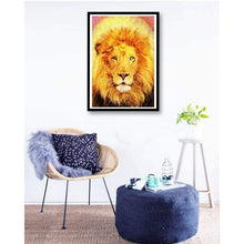 Load image into Gallery viewer, Special Animal Lions Portrait Full Drill - 5D Diy Diamond Painting Kits VM7796 - NEEDLEWORK KITS