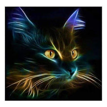 Load image into Gallery viewer, Special Black Cat Diy Full Drill - 5D Cross Stitch Diamond Painting Kits VM00072 - NEEDLEWORK KITS