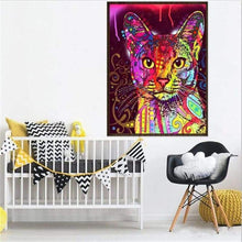 Load image into Gallery viewer, Special Cheap Cute Cat Pet Full Drill - 5D Diy Diamond Painting Kits VM8199 - NEEDLEWORK KITS
