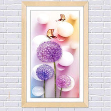Load image into Gallery viewer, 2019 Special Cheap Modern Art Lavender Diy Dandelion Diamond Embroidery VM1077 - NEEDLEWORK KITS