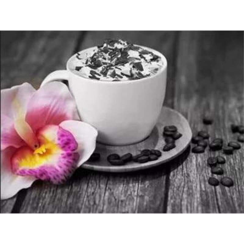 2019 Special Coffee Cup And Flowers Diy 5d Bling Bling Art Diamond Painting Kits VM3011 - 4