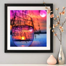 Load image into Gallery viewer, Special Colorful Bottles And Sunset Full Drill - 5D Diy Diamond Painting Kits VM7841 - NEEDLEWORK KITS