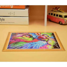 Load image into Gallery viewer, Special Colorful Cat Portrait Diamond Painting Cross Stitch Kits VM0094 - NEEDLEWORK KITS