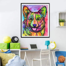 Load image into Gallery viewer, 2019 Special Colorful Dog 5d Diy Diamond Stitch Kit VM1927 - 3