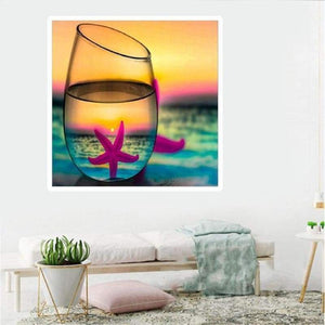 Special Colorful Dream Sunset Full Drill - 5D Diy Diamond Painting Kits VM7842 - NEEDLEWORK KITS