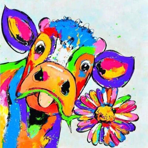 2019 Special Cow 5D Diy Embroidery Cross Stitch Diamond Painting Kits NA0205