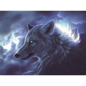 Special Dream Cool Wolf Picture Full Drill - 5D Diy Diamond Painting Kits VM8273 - NEEDLEWORK KITS