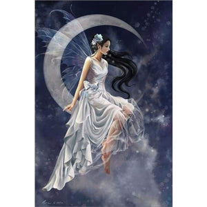 Special Dream Fairy Diy Full Drill - 5D Diamond Painting Cross Stitch VM8025 - NEEDLEWORK KITS