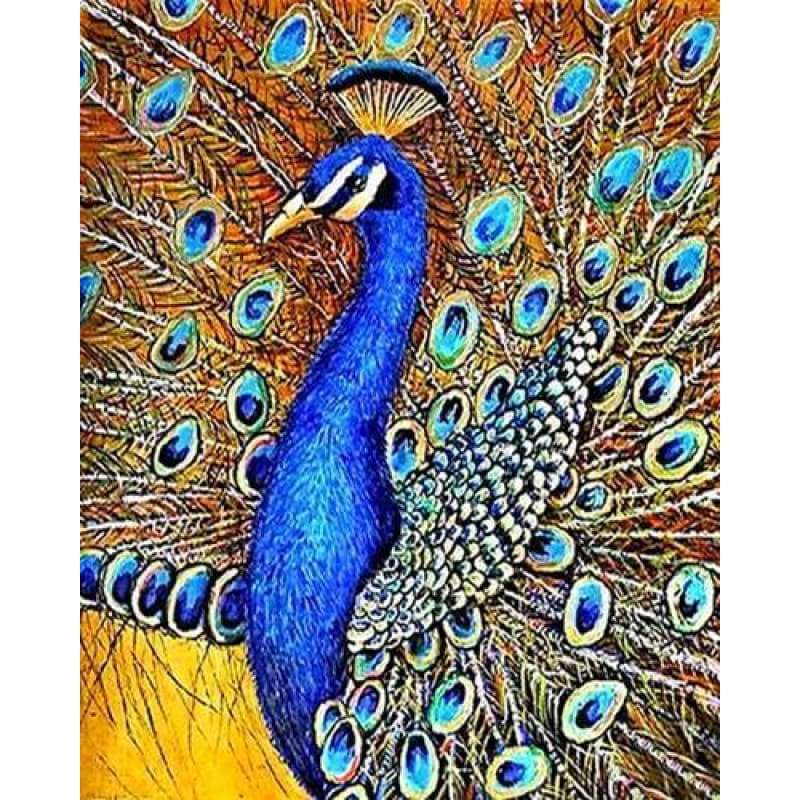 Special Embroidery Animal Peacock Full Drill - 5D DIY Diamond Painting Kits VM9000 - NEEDLEWORK KITS