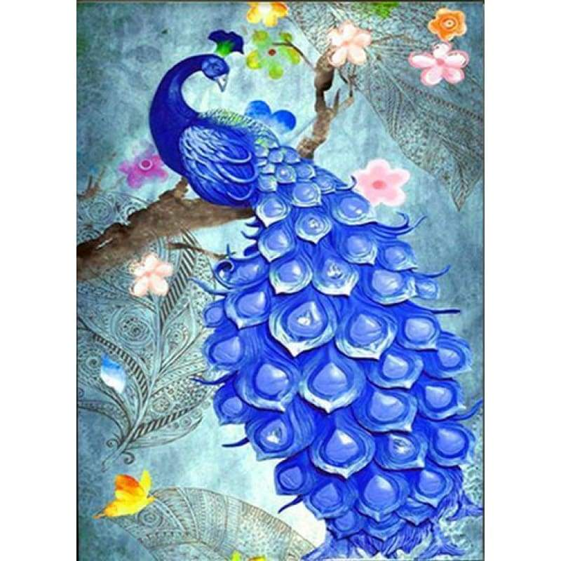 Special Embroidery Peacock Picture Full Drill - 5D Diy Diamond Painting Kits VM8158 - NEEDLEWORK KITS