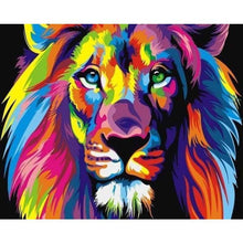 Load image into Gallery viewer, 5D DIY Diamond Painting Kits Cartoon Special Colorful Lion - 2