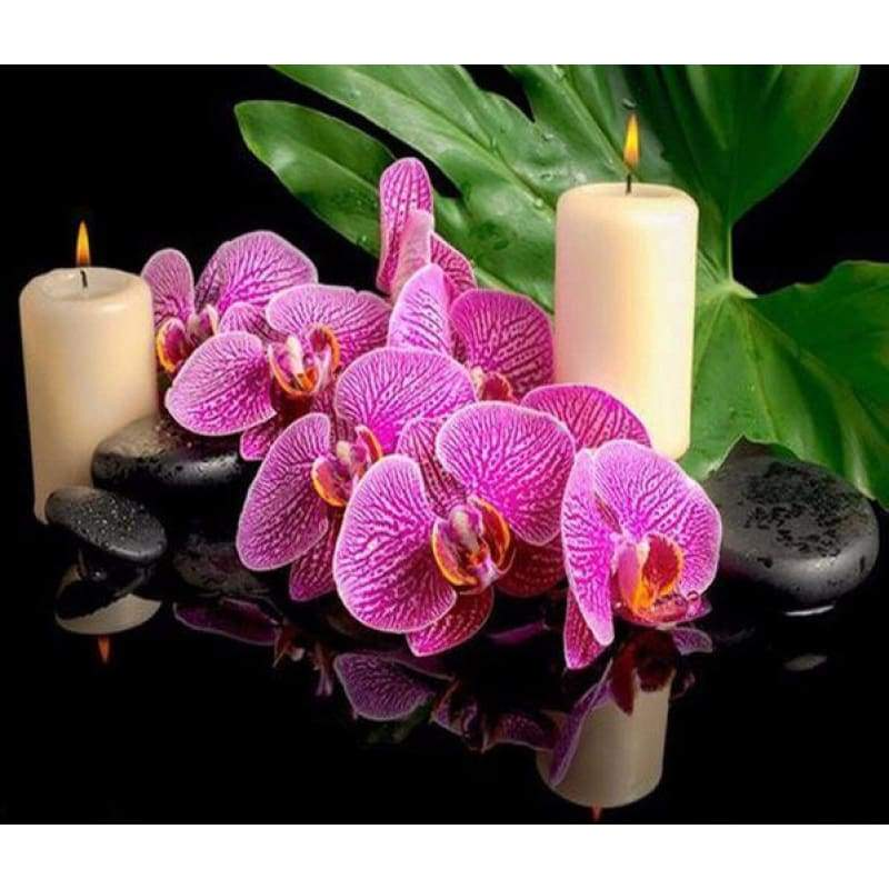 Full Drill - 5D DIY Diamond Painting Kits Special Popular Violet Flower - NEEDLEWORK KITS