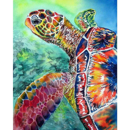 5D DIY Diamond Painting Kits Special Portrait Of Turtle - 3